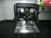 ECM Synchronika EdelstahlAnthrazit Kaffeemaschine Espressomaschine