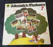 LP Schallplatte VinylVolkstümliche Musikanten 7