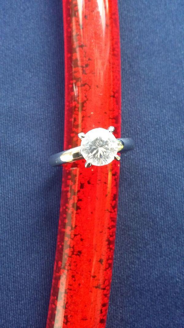Damenring Silber 925 rhodiniert
