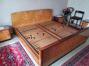 Bett inklusive 2 x Lattenrost