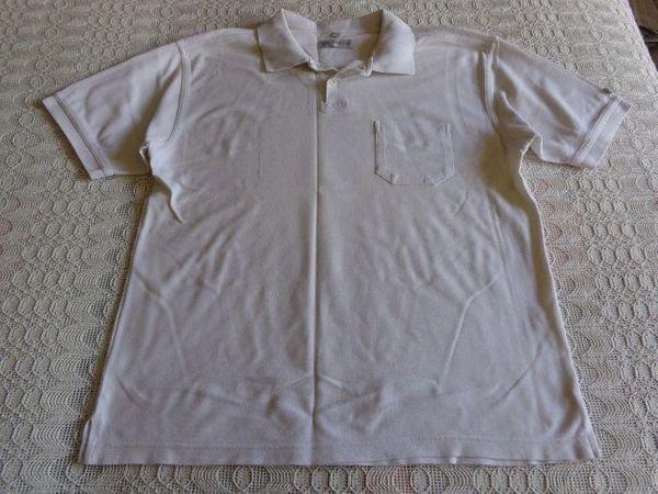 Vintage - Herren-Poloshirt Gr M beige