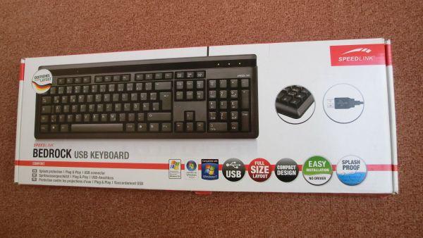 BEDROCK USB-Tastatur