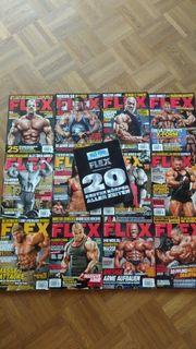 FLEX Bodybuilding Zeitschriften Sammlung Ronnie