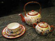 Japanisches Teeservice handbemalt Original