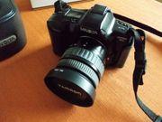 Minolta Dynax 3xi Spiegelreflex-Analogkamera zu