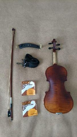 Streich- und Zupfinstrumente - 3 4 Violine-Geige Set Karl
