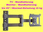 Monitor Wandhalterung TV Wandhalterung bis