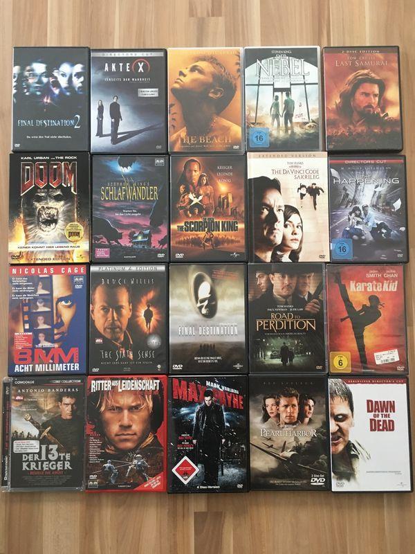Verkaufe 54 DVD s