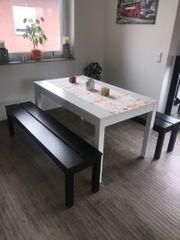 Bank und Tisch Bjursta Ikea