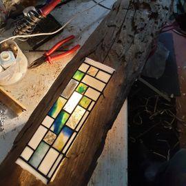 Licht Kunst in der GLASKUNST WERKSTATT MÜLHEIM & Tiffany Lampen Reparatur Klinik Nrw & Glas Galerie