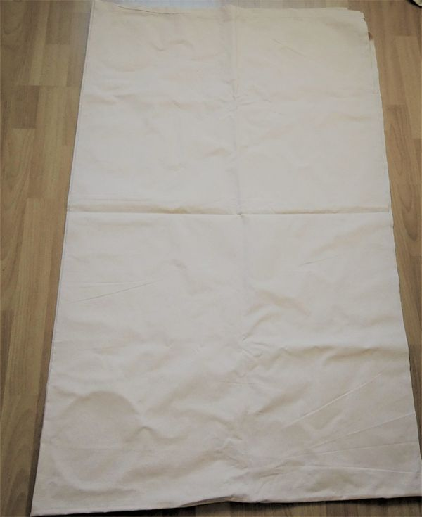 Betttuch Bettlaken beige ca 248