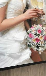Brautkleid und Herren Anzug Hugo