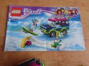 Lego Friends Geländewagen Eislaufplatz Wintersport