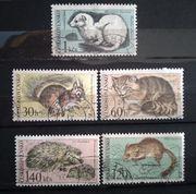 Tschechoslowakei 1967 Tiere aus Nationalpark -