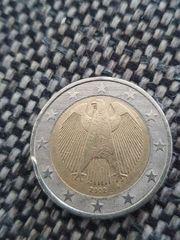 2Euro cent mit Fähler münze