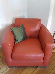 Ledersessel von Italsofa - Sessel aus