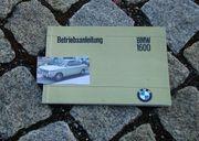 Betriebsanleitung BMW 1602 1967 1600-2