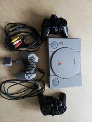 Playstation 1 inkuisve 3 Controller