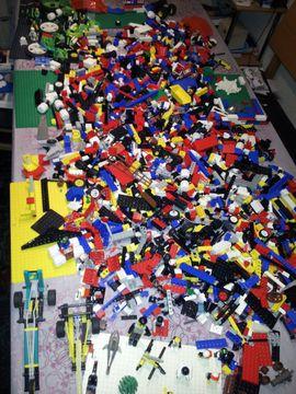 Spielzeug: Lego, Playmobil - LEGO Riesiges Konvolut 5kg Lego