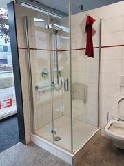 Duschtrennwand Kermi Diga aus Ausstellung