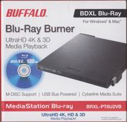 Buffalo Blu-Ray Burner BRXL-PT6U2VB