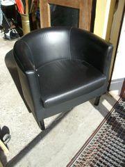 12 - für einen schwarzer Loungesessel