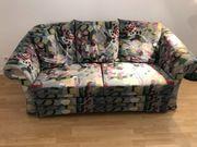 Ausklapp-sofa mehrfarbig Federkern