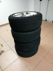 ---Winterreifen mit Alufelgen für Mercedes---