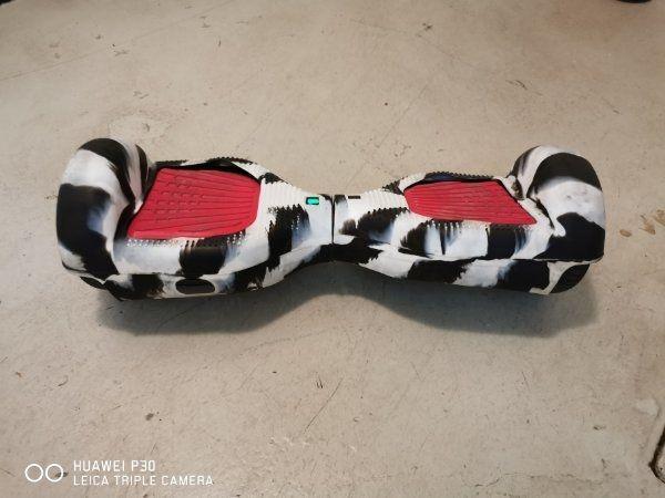 Hoverboard schwarz mit Hülle Top