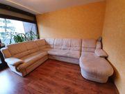 Wohnlandschaft - Sofa - Couch -mit Bettfunktion