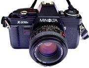 Neuwertige MINOLTA X-370s aus 1