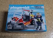 Playmobil 5398 Feuerwehrkart NEU