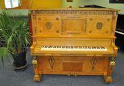 Ideal Klavier mit Messing - Applikationen