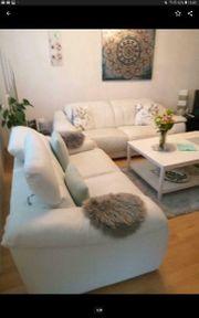Leder ECHT Couch 2 und