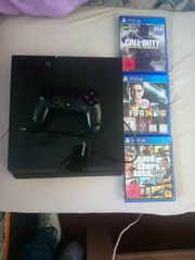 Playstation 4 Slim 3 Spiele