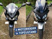 Touren-Motorräder im Doppelpack HONDA SUZUKI