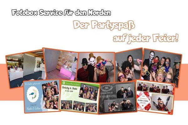 Professionelle Fotobox mieten Kiel - All