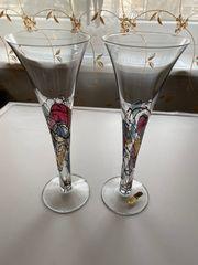 2x Cocktail Glaser 28cm Höhe