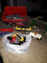 Playmobil lego Eisenbahn