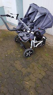 Zwillingskinderwagen - Dorjan Danny Sport Twin