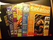 Motorrad Kataloge 1994 bis 1999