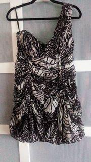 raffiniertes Kleid Abendkleid Gr 42