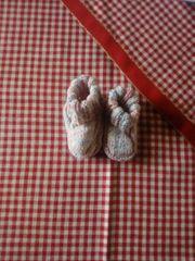süße babyschühchen handgestrickt privater Verkauf