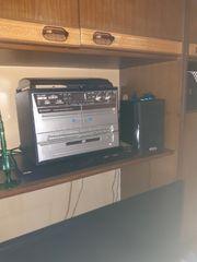 Stereoanlage mit Schallplattenspieler USB SD