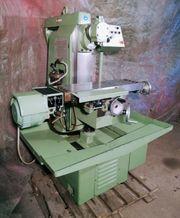 Universalfräsmaschine Hermle FW 801 Horizontalfräse