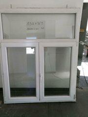 16 zweiflügige Fenster 138 cm