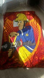 Feuerwehrmann Sam kuscheldecke