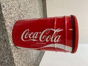 Coca Cola Abfalleimer Nostalgie