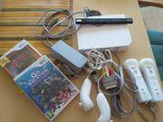 Wii Konsole inklusive 2 Controller