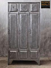 Restaurierte Küppersbusch Spinde Metallschränke Industrial